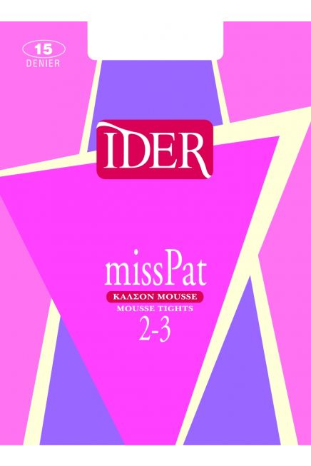 IDER MISS PAT 2/3 - MOUSSE TIGHTS WITH NO GUSSET