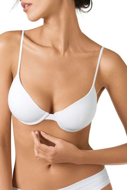 STRETCH COTTON BRA WITH PADDE CUPS