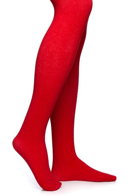 POMPEA GCL-FIOCCO - KIDS COTTON TIGHTS WITH FLAT SEAMS AND GUSSET